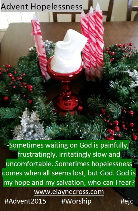 stress ans struggle can lead to hopelessness, but God is faithful.