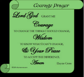 Courage Prayer